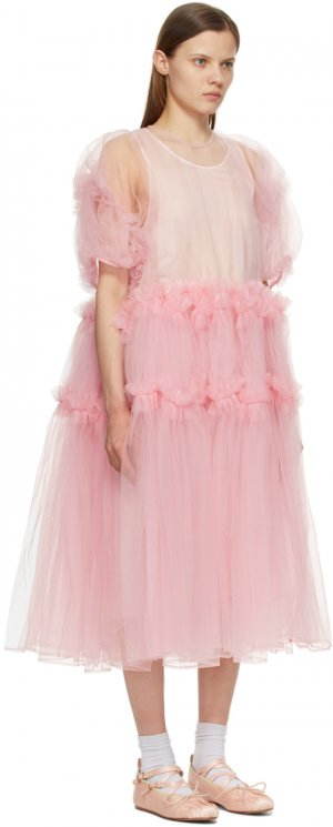 Pink Tulle Frill Dress Noir Kei Ninomiya. Цвет: 2 pink