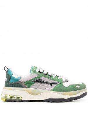 Кроссовки Drake Premiata. Цвет: зеленый