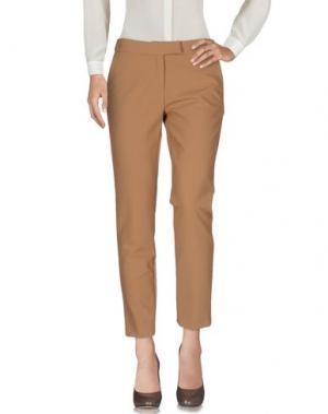 Повседневные брюки CLIPS. Цвет: верблюжий