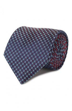 Шелковый галстук Brioni. Цвет: красный