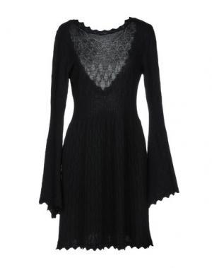 Короткое платье BABYLON. Цвет: черный