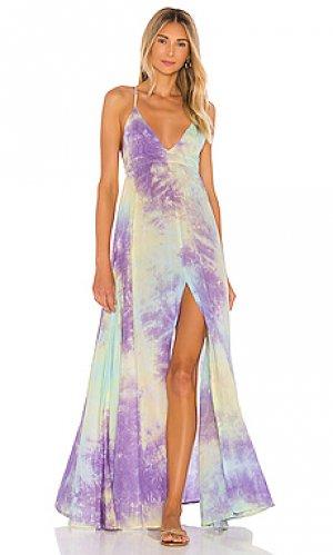 Макси платье day dream Tiare Hawaii. Цвет: фиолетовый