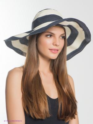 Шляпа Marina Yachting. Цвет: темно-серый, кремовый