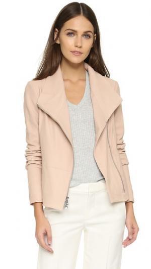 Кожаная куртка Scuba Vince. Цвет: бледно-розовый