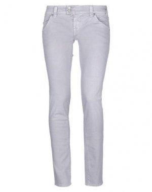 Повседневные брюки CYCLE. Цвет: сиреневый