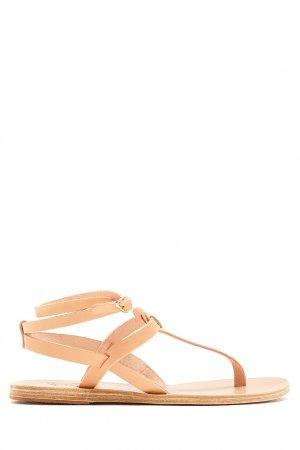 Бежевые сандалии Estia Ancient Greek Sandals. Цвет: бежевый