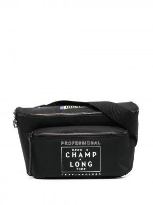 Поясная сумка Le Pliage Collection EU Longchamp. Цвет: черный