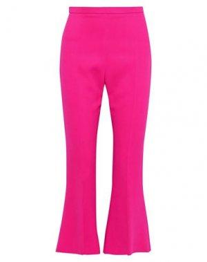 Повседневные брюки ANTONIO BERARDI. Цвет: фуксия