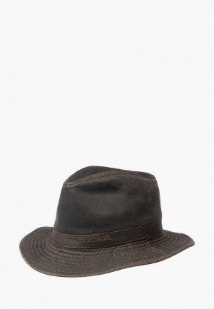 Шляпа Stetson. Цвет: коричневый
