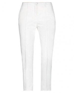 Повседневные брюки G.SEL. Цвет: слоновая кость