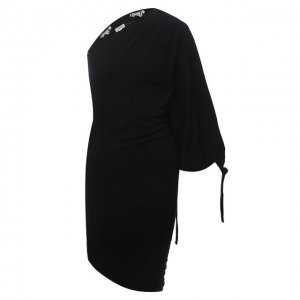 Платье x Paulas Ibiza Loewe. Цвет: чёрный