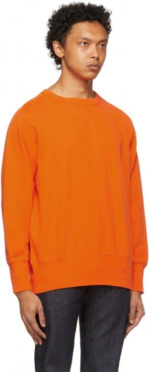 Levis Vintage Clothing Orange Bay Meadows Sweatshirt Levi's. Цвет: lvc acid or