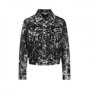 Джинсовая куртка Stella McCartney. Цвет: серый