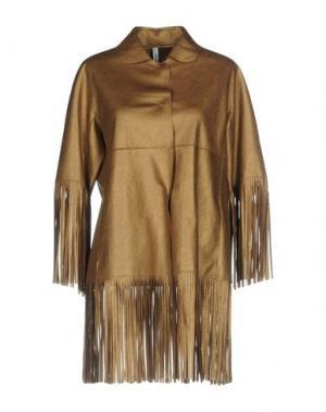 Куртка PIANURASTUDIO. Цвет: бронзовый