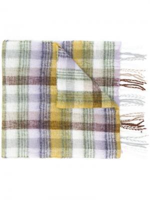 Tartan scarf Altea. Цвет: нейтральные цвета