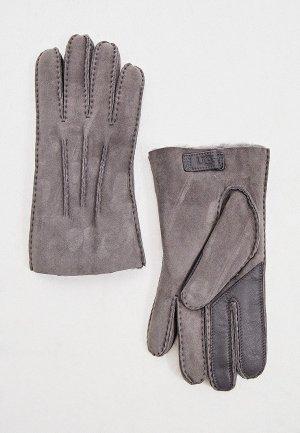 Перчатки UGG. Цвет: серый