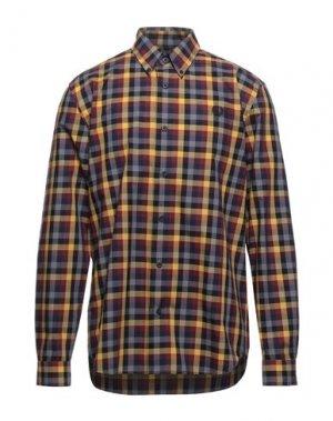 Pубашка FRED PERRY. Цвет: охра