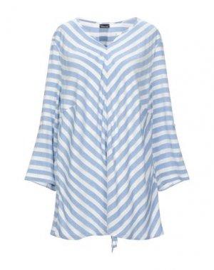 Блузка BARBARA LEBEK. Цвет: небесно-голубой