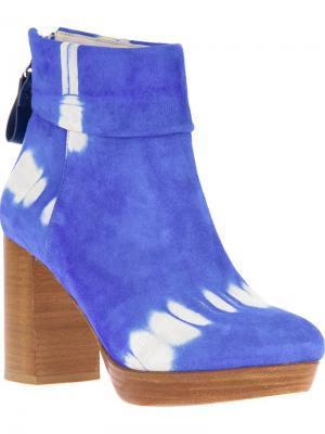 Ботинки New Venessa B Store. Цвет: синий