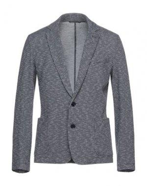 Пиджак TRUSSARDI JEANS. Цвет: темно-синий