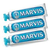 Набор Зубная паста «Морская мята» Aquatic Mint Toothpaste Bundle (3 х 85 мл) Marvis
