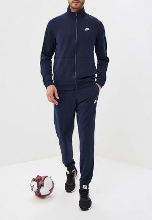 Костюм спортивный Nike Sportswear Mens Track Suit. Цвет: синий