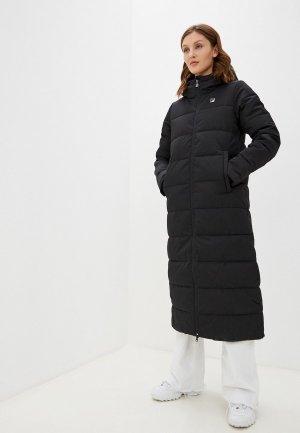 Куртка утепленная Fila. Цвет: черный