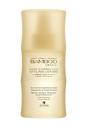 Полирущий Лосьон для укладки волос Bamboo Smooth Frizz-Correcting Styling Lotion, 100 ml Alterna. Цвет: без цвета