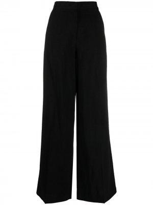 Широкие брюки 8pm. Цвет: черный