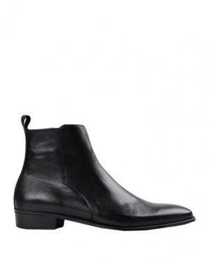 Полусапоги и высокие ботинки ARTIGIANI AURELIO GIOCONDI. Цвет: черный