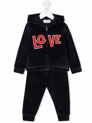 Спортивный костюм Love Moncler Enfant. Цвет: синий