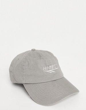 Бейсболка серого цвета -Нейтральный Hi-Tec