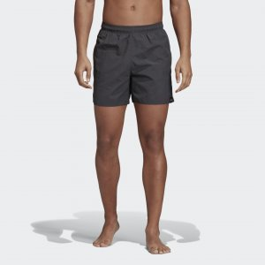 Пляжные шорты Solid Performance adidas. Цвет: серый
