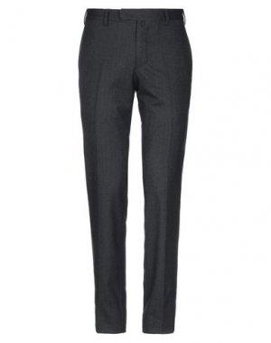 Повседневные брюки ANGELO NARDELLI. Цвет: стальной серый