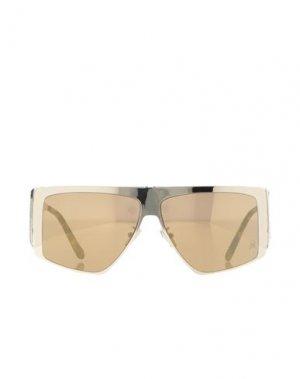 Солнечные очки PHILIPP PLEIN. Цвет: платиновый