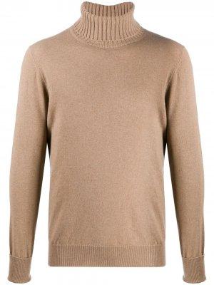 Roll neck jumper Ballantyne. Цвет: коричневый