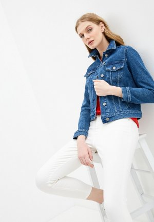 Куртка джинсовая Boss J90 Compton. Цвет: синий