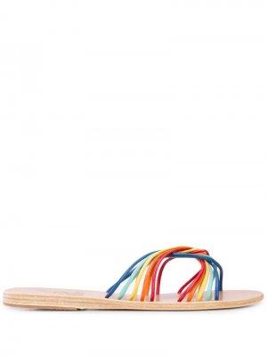 Сандалии Xanthi с ремешками Ancient Greek Sandals. Цвет: разноцветный