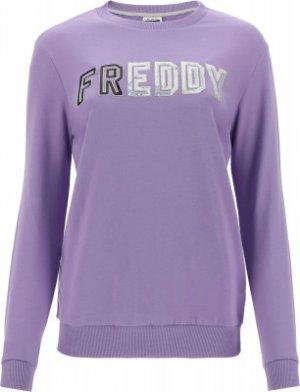 Свитшот женский , размер 44-46 Freddy. Цвет: фиолетовый