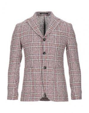 Пиджак FUTURO. Цвет: красно-коричневый