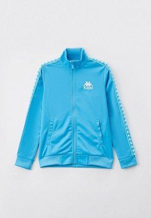 Олимпийка Kappa. Цвет: голубой
