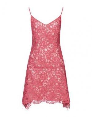 Короткое платье FRANCESCA PICCINI. Цвет: красный