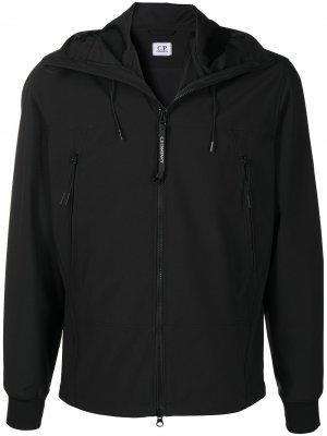 Куртка с капюшоном C.P. Company. Цвет: черный