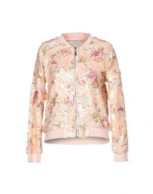 Куртка LA KORE. Цвет: телесный