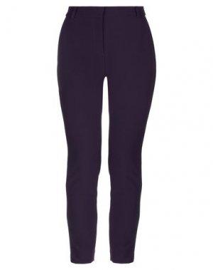 Повседневные брюки KI6? WHO ARE YOU?. Цвет: фиолетовый