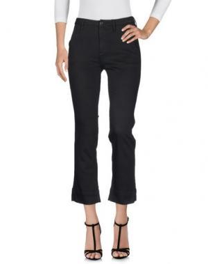 Джинсовые брюки BLACK ORCHID. Цвет: черный