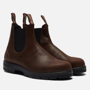 Ботинки 1609 Leather Lined Blundstone. Цвет: коричневый