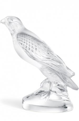 Скульптура Falcon Lalique. Цвет: прозрачный