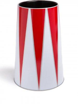 Двухцветная подставка для бутылки Circus Alessi. Цвет: красный