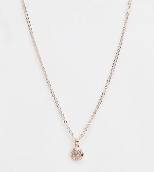 Ожерелье с маленькой подвеской-пуговицей -Золотой Ted Baker